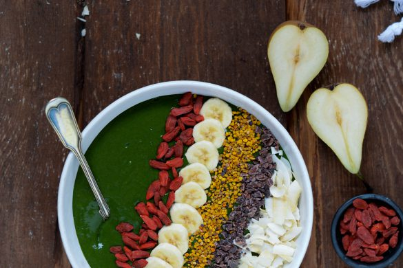 Matcha smoothiebowl