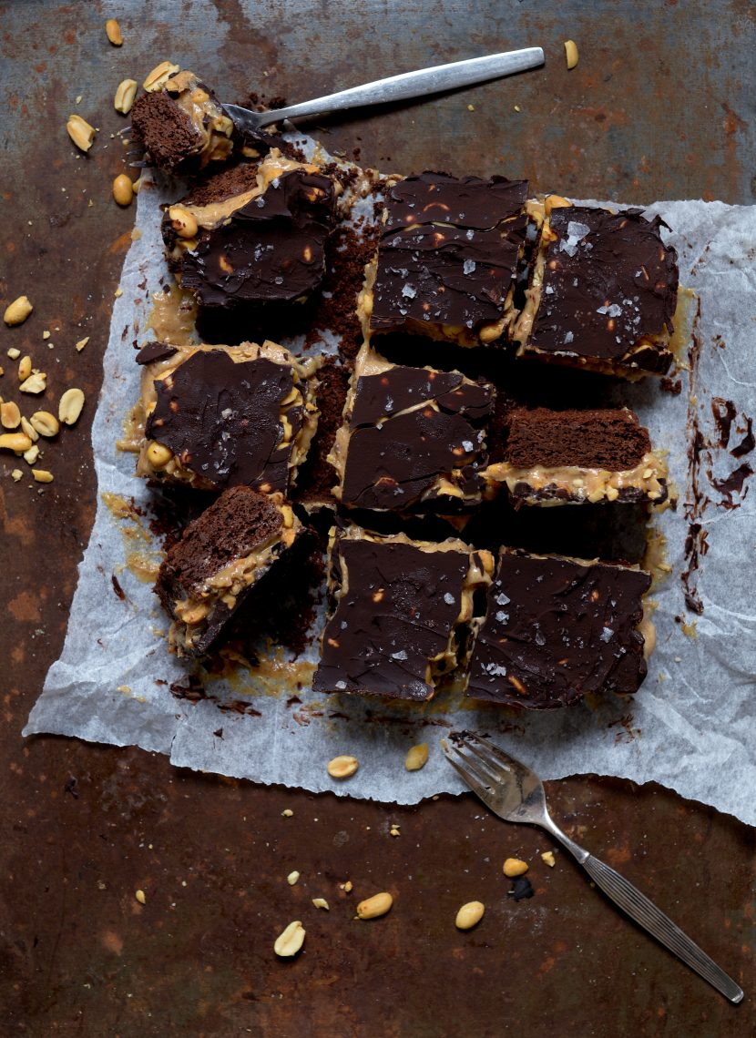 Snickers brownie